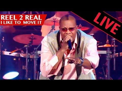 REEL 2 REAL - I like to move it / Live dans les années bonheur