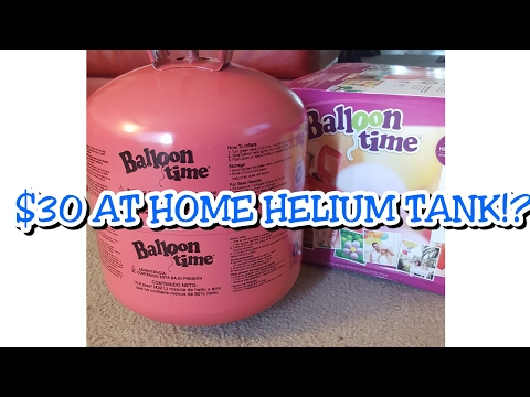 $30 Balloon Time Helium Tank Review *vlog style* // Prep for