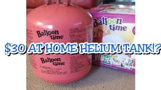 $30 Balloon Time Helium Tank Review *vlog style* // Prep for Lorenzo's 2 year Pictures