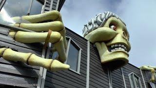 HAUNTED HOUSE,  GT. YARMOUTH. PLEASURE BEACH 2016 (LIGHTS ON) HD.