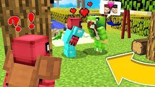 ZENGİN İLE BUSE ÖPÜŞÜYOR ! 💏 😱 - Minecraft