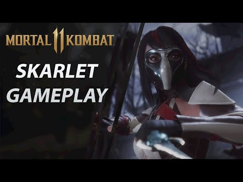 Mortal Kombat 11 | Stress Test Beta | Skarlet Gameplay thumbnail