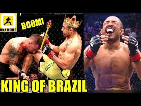 MMA Community Reacts to the Vintage TKO in Jose Aldo vs Renato Moicano,UFC FN 144 Results