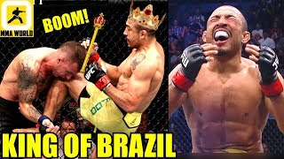 MMA Community Reacts to the Vintage TKO in Jose Aldo vs Renato Moicano,UFC FN 144 Results