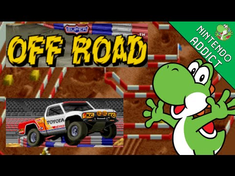 Super Off Road (SNES) - Not Sponsored by Toyota