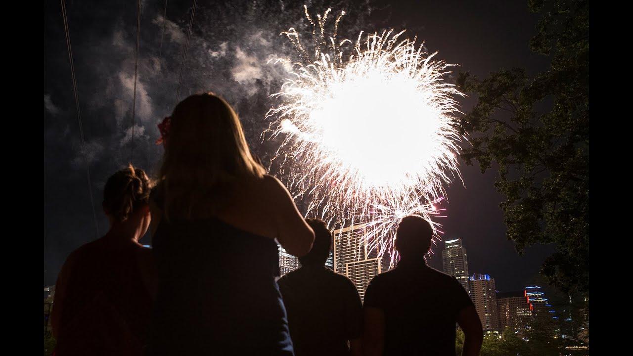 Where to watch Fourth of July fireworks around Austin