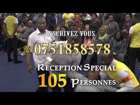L'HOMME QUI PROPHÉTISE AVEC PRÉCISION/ BISHOP CESAR KASSIE A PARIS