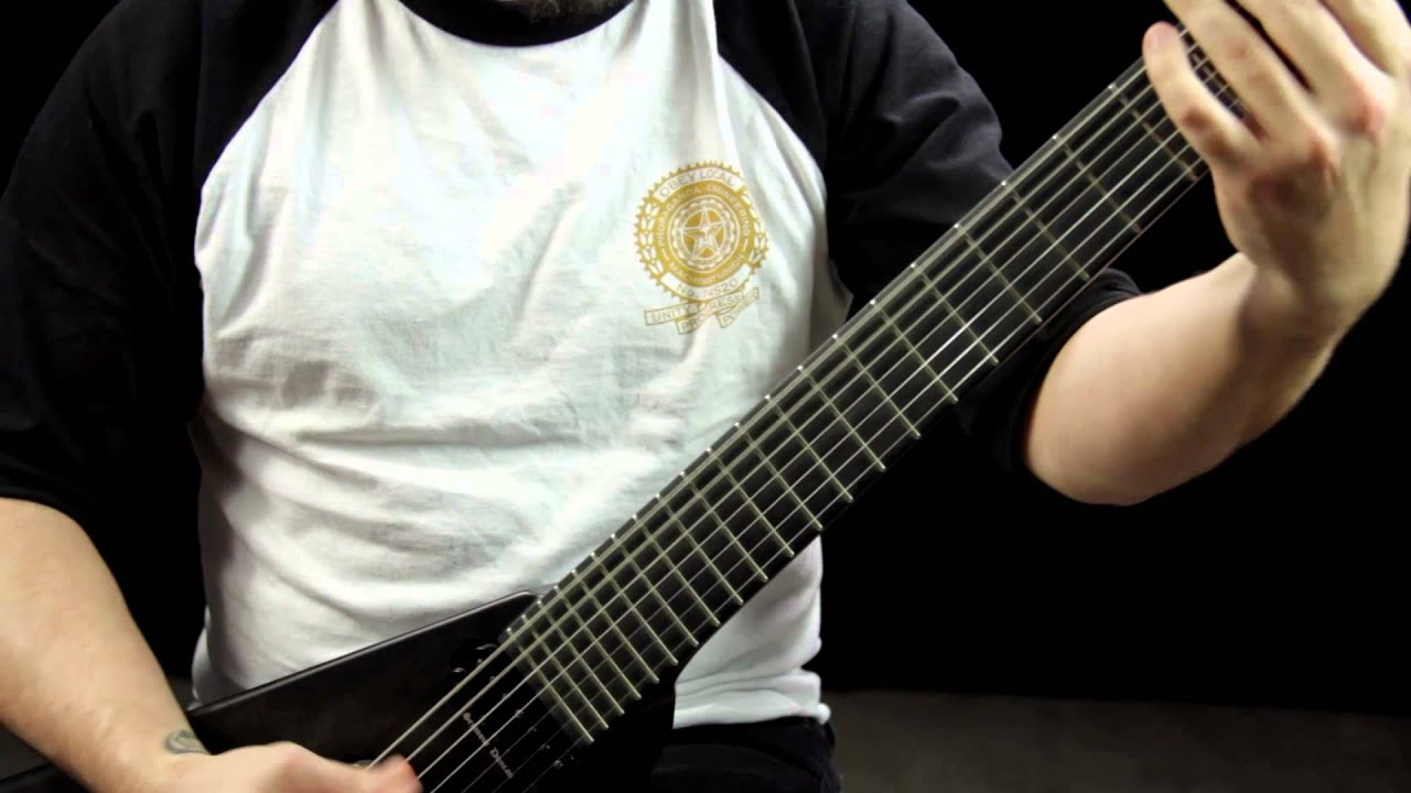 The Kennedy Veil Perfidia Guitar Demonstration Youtube