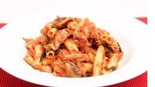 Quick Turkey Cacciatore Pasta - Laura Vitale - Laura In The Kitchen Episode 678