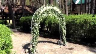 Оформление свадебной арки | ArtHolidays