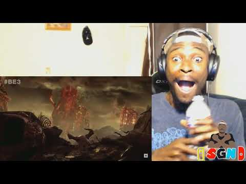 Doom Eternal Trailer Live Reaction E3 2018 Bethesda DOOM 2!!!!!!