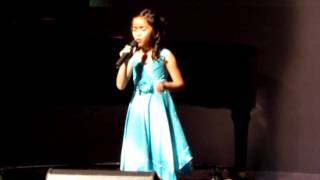2012 norcal sings champion 8 yr old ayanna n a moment like this kelly clarkson