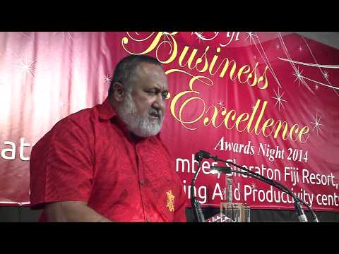 Fiji Metereological Services wins Fiji Business Excellence Prize Awards 2014