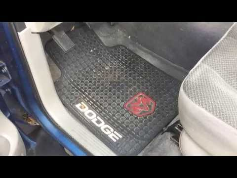 WeatherTech All-Weather Floor Mats for '03 Ram 1500 + Dashboard Cover Update