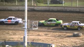 Dirt Race Central 2012 Wrecks