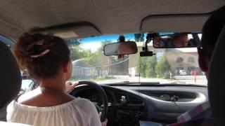 Сдача внутреннего экзамена по вождению в Автошколе ДОСААФ