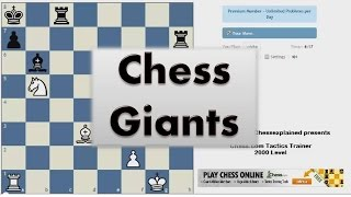 Chess Giants #007 - Euwe vs Keres Amsterdam 1940 Queens Indian