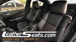 2012 - 2014 Dodge Charger Custom Leather Interior Upholstery Kit - LeatherSeats.com