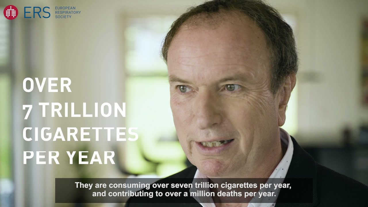 Meet Prof. Jonathan Grigg - ERS Tobacco Control Committee Chair