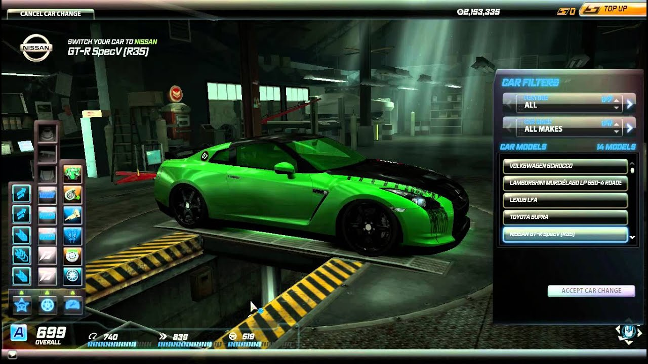 Lee Iacocca Mustang >> Need for Speed World: Garage - YouTube