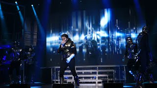 "Generalprobe des Michael-Jackson-Musicals ""Beat It"" in Deggendorf. Am 13.04.2020 im Circus Krone"