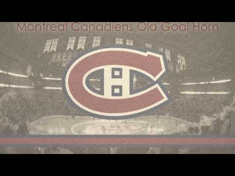 Montreal Canadiens Old Goal Horn
