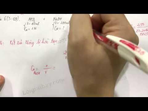 Giải bài 6 trang 129 SGK Hóa học 12