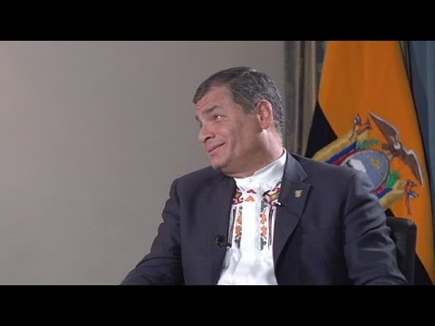 Debt in Latin America, Julian Assange and the Greek crisis - Ecuador President Rafael Correa…