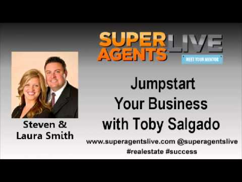 Jumpstart Your Business with Steven & Laura Smith and Toby Salgado