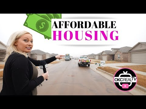 Affordable new construction homes in Oklahoma City