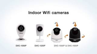 Alecto DVC Wifi & IP Camera lineup | With free Alecto CAM app! Record without subscription!