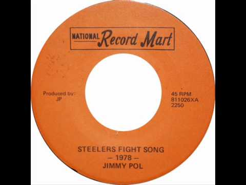"""Jimmy Pol """"Steelers Fight Song"""" 1978"""