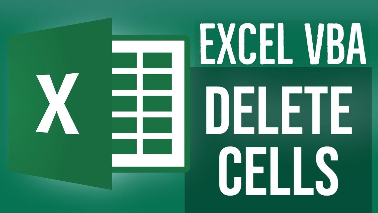 Excel VBA Tutorial for Beginners 17- Delete Cells using VBA in MS Excel