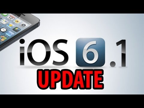 Updating To IOS 6.1 (iPhone 4S)