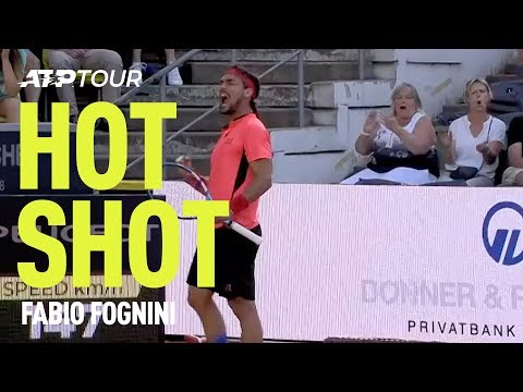 Fognini Wins Point From Way Downtown in Hamburg | HOT SHOT | ATP