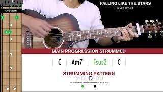 Falling Like The Stars Guitar Cover James Arthur  🎸 |Tabs + Chords| Video