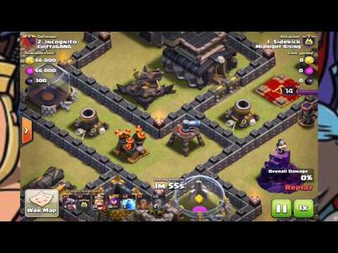 Clash Of Clans  | Dragon 3* war raids | Thanks to Mystic 7