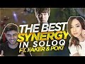 Yassuo | The Best Synergy In Solo Queue Ft. Faker & Pokimane