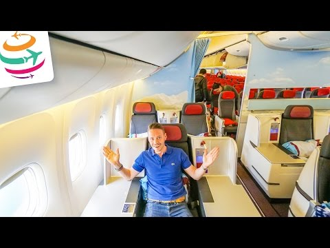 Austrian Business Class Boeing 777-200ER Flugreport Review Bericht | GlobalTraveler.TV