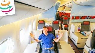 Austrian Business Class Boeing 777-200ER | GlobalTraveler.TV