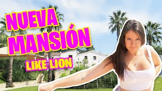 MI NUEVA MANSIÓN CON LIKE LION | MANSION TOUR | Room Tour * Gigiis