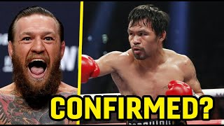 """""""MANNY PACQUIAO WILL FIGHT UFC SUPERSTAR CONOR MCGREGOR!"""" - TEAM PACQUIAO CONFIRM POTENTIAL CLASH!"""