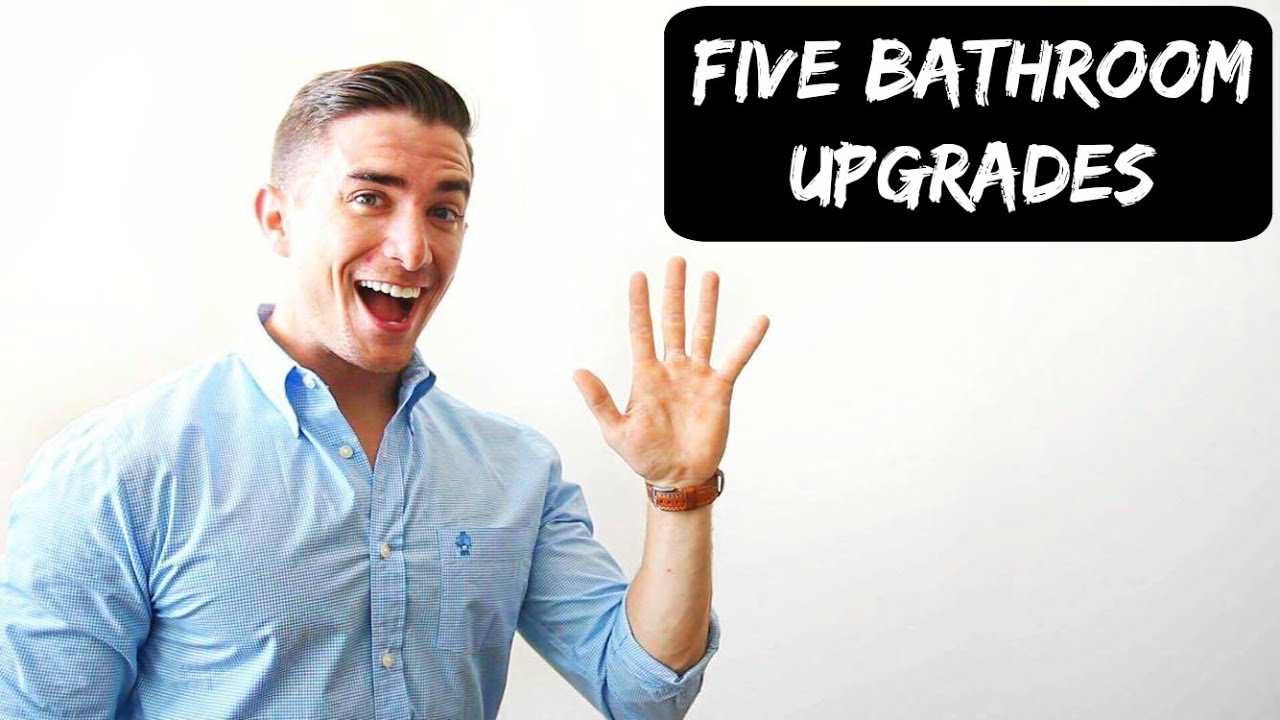Bathroom Sign Language Baby five upgrades to improve your bathroom experience - youtube