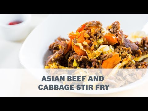 Asian Beef And Cabbage Stir Fry Recipe - Cooking With Bosch