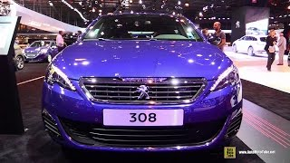 Video 2015 Peugeot 308 GT - Exterior and Interior Walkaround - 2014 Paris Auto Show download MP3, 3GP, MP4, WEBM, AVI, FLV Juli 2018