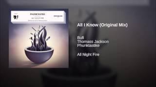All I Know (Original Mix)