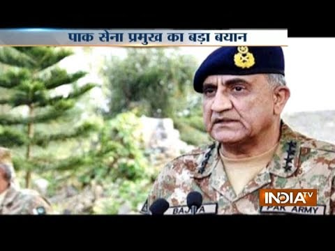 Army Chief Gen Qamar Bajwa says Pakistan wants peaceful relations with India