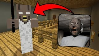 I FOUND GRANNY in Minecraft Pocket Edition (Granny Horror House in Minecraft PE)