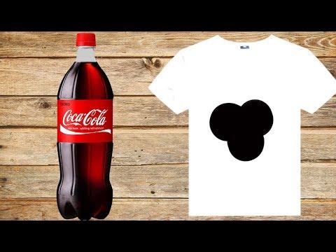 Как отстирать Кока-Колу с одежды