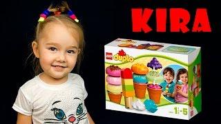 Видео обзоры LEGO Duplo Фургон с мороженым